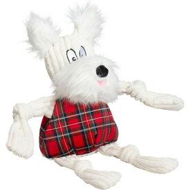 Hugglehounds ハッグルハウンド ペットグッズ 犬用品 おもちゃ 【Whiskey Westie Knottie Dog Toy】