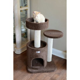 Armarkat アーマーカット ペットグッズ 猫用品【Premium Cat Tree 30in Brown】Coffee Brown