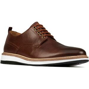 クラークス CLARKS メンズ 革靴・ビジネスシューズ ダービーシューズ シューズ・靴【Chantry Plain Toe Derby】Dark Tan Leather