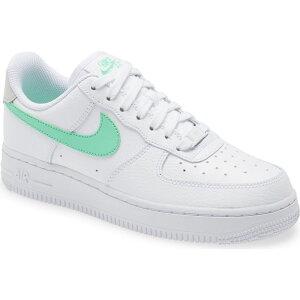ナイキ NIKE レディース スニーカー エアフォースワン シューズ・靴【Air Force 1 '07 Sneaker】White/Green Glow/Bone