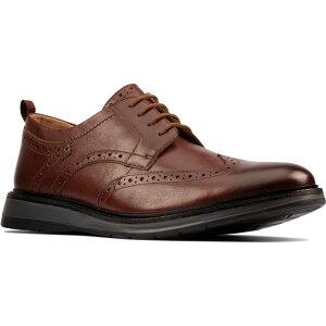 クラークス CLARKS メンズ 革靴・ビジネスシューズ ウイングチップ ダービーシューズ シューズ・靴【Chantry Wingtip Derby】Dark Tan Leather