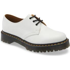 ドクターマーチン DR. MARTENS メンズ 革靴・ビジネスシューズ ダービーシューズ シューズ・靴【Plain Toe Derby】White Leather