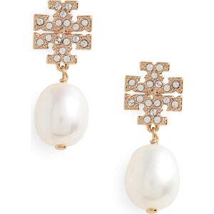 トリー バーチ TORY BURCH レディース イヤリング・ピアス ドロップピアス ジュエリー・アクセサリー【Kira Baroque Pearl Drop Earrings】Tory Gold/Pearl