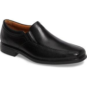 クラークス CLARKS メンズ ローファー シューズ・靴【Un.Sheridan Go Loafer】Black Leather
