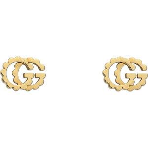 グッチ GUCCI レディース イヤリング・ピアス ジュエリー・アクセサリー【GG Running 18K Gold Studs】Yellow Gold