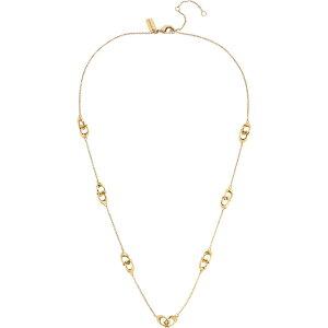 コーチ COACH レディース ネックレス ジュエリー・アクセサリー【Interlocking-C Station Necklace】Shiny Gold