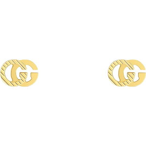 グッチ GUCCI レディース イヤリング・ピアス スタッドピアス ジュエリー・アクセサリー【Running G 18K Gold Stud Earrings】Yellow Gold