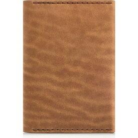 エズラ アーサー EZRA ARTHUR メンズ パスポートケース 【Leather Passport Wallet】Whiskey