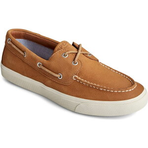 スペリートップサイダー SPERRY メンズ デッキシューズ シューズ・靴【Bahama PlushWave Boat Shoe】Tan