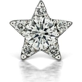 マリアタシュ MARIA TASH レディース イヤリング・ピアス スタッドピアス ジュエリー・アクセサリー【Diamond Star Threaded Stud Earring】White Gold/Diamond