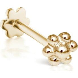 マリアタシュ MARIA TASH レディース イヤリング・ピアス スタッドピアス ジュエリー・アクセサリー【Ball Flower Threaded Stud Earring】Yellow Gold