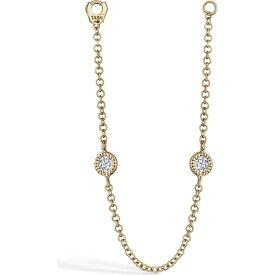 マリアタシュ MARIA TASH レディース ジュエリー・アクセサリー 【Diamond Station Connecting Chain】Yellow Gold