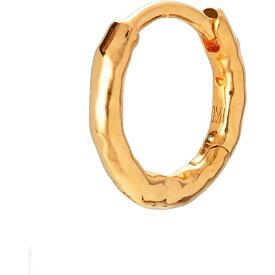 モニカ ヴィナダー MONICA VINADER レディース イヤリング・ピアス フープピアス ジュエリー・アクセサリー【Ziggy Huggie Hoop Earring】Gold