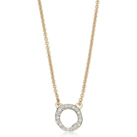 モニカ ヴィナダー MONICA VINADER レディース ネックレス ジュエリー・アクセサリー【Riva Diamond Circle Pendant Necklace】Gold/Diamonds