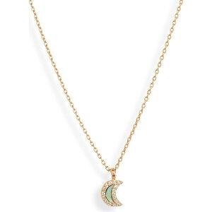 スターリング フォーエバー STERLING FOREVER レディース ネックレス チャーム ジュエリー・アクセサリー【Shell Moon Charm Pendant Necklace】Gold