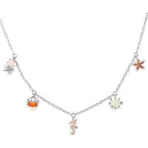 ガール ズクルー GIRLS CREW レディース ネックレス チャーム ジュエリー・アクセサリー【Under the Sea Charm Necklace】Silver