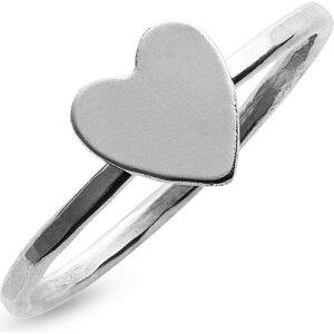 ナシェル NASHELLE レディース 指輪・リング チャーム ハート ジュエリー・アクセサリー【Heart Charm Ring】Silver