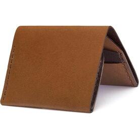 エズラ アーサー EZRA ARTHUR メンズ 財布 【No. 4 Leather Wallet】Whiskey