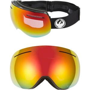 ドラゴン DRAGON レディース スキー・スノーボード ゴーグル【X1 Frameless Snow Goggles】Black/Redion Rose