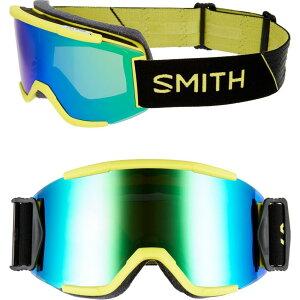 スミス SMITH レディース スキー・スノーボード ゴーグル【Squad Chromapop 180mm Snow Goggles】Citron Glow