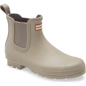 ハンター HUNTER メンズ レインシューズ・長靴 チェルシーブーツ シューズ・靴【Original Waterproof Chelsea Rain Boot】Grey