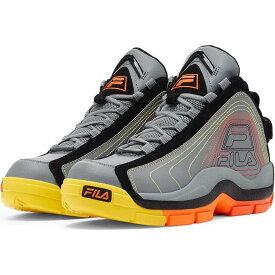 フィラ FILA メンズ バスケットボール シューズ・靴【Grant Hill 2 Basketball Shoes】Grey/Black/Orange