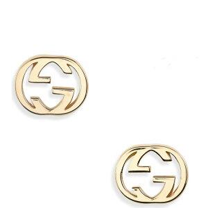 グッチ GUCCI レディース イヤリング・ピアス スタッドピアス ジュエリー・アクセサリー【Interlocking-G Stud Earrings】18k Yellow Gold