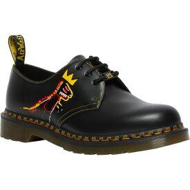 ドクターマーチン DR. MARTENS メンズ 革靴・ビジネスシューズ ダービーシューズ シューズ・靴【x Jean-Michel Basquiat 1461 Derby】Black Print