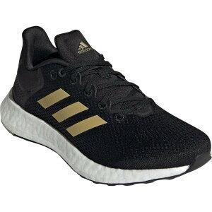 アディダス ADIDAS レディース ランニング・ウォーキング シューズ・靴【PureBoost 21 Primegreen Running Shoe】Core Black/Gold Met/Grey Six