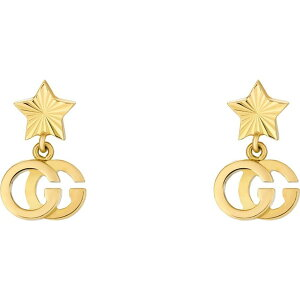グッチ GUCCI レディース イヤリング・ピアス ドロップピアス ジュエリー・アクセサリー【GG Running 18K Gold Drop Earrings】Yellow Gold