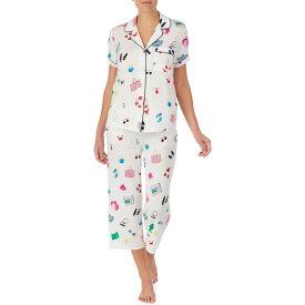 ケイト スペード KATE SPADE NEW YORK レディース パジャマ・上下セット インナー・下着【print jersey crop pajamas】Pool Party