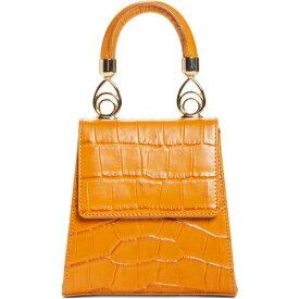ブラザーヴェリーズ BROTHER VELLIES レディース ハンドバッグ バッグ【Nile Croc Embossed Leather Top Handle Bag】Whiskey