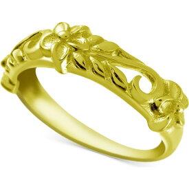 コナベイハワイ Kona Bay ユニセックス 指輪・リング ジュエリー・アクセサリー【Decorative Floral Band in Gold-Plate】Gold