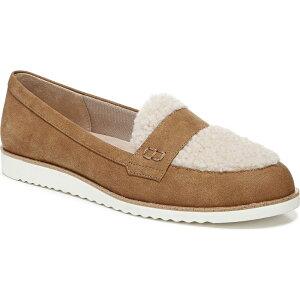 ライフストライド LifeStride レディース ローファー・オックスフォード シューズ・靴【Zee Cozy Slip-on Loafers】Oatmeal Microsuede