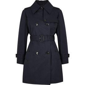 マッキントッシュ Mackintosh レディース トレンチコート アウター【Muie Navy Cotton Trench Coat】Navy