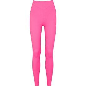 アダム セルマン Adam Selman Sport レディース スパッツ・レギンス インナー・下着【Neon Pink Stretch-Jersey Leggings】Pink