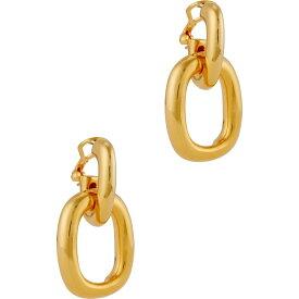 ケネスジェイレーン Kenneth Jay Lane レディース イヤリング・ピアス ジュエリー・アクセサリー【Gold-Tone Hoop Earrings】Gold