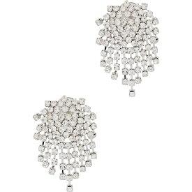 ケネスジェイレーン Kenneth Jay Lane レディース イヤリング・ピアス ジュエリー・アクセサリー【Crystal-Embellished Cluster Clip-On Earrings】Multi