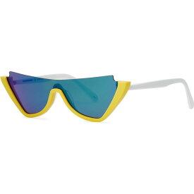 クレージュ COURREGES レディース メガネ・サングラス キャットアイ【Yellow cat-eye sunglasses】Yellow