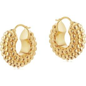 ミッソーマ Missoma レディース イヤリング・ピアス フープピアス ジュエリー・アクセサリー【bayu 18kt gold vermeil hoop earrings】Gold