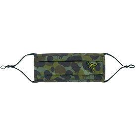 コーチ Coach レディース ファッション小物 デザインマスク ブランド【Rexy Wild Beast camouflage-print cotton face mask】Green