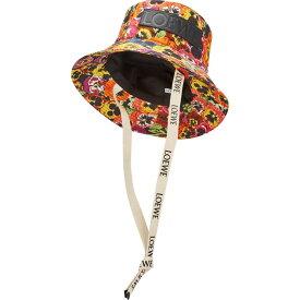 ロエベ Loewe レディース ハット バケットハット 帽子【Pansy-print canvas bucket hat】Multi