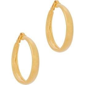 ケネスジェイレーン Kenneth Jay Lane レディース イヤリング・ピアス ジュエリー・アクセサリー【Gold-Tone Clip-On Hoop Earrings】Gold