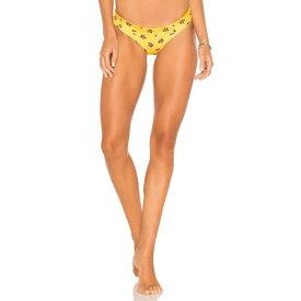 カオス KAOHS レディース 水着・ビーチウェア ボトムのみ【Salty Reversible Bikini Bottom】Rose Bud & Sun