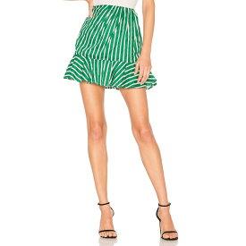 ハウスオブハーロウ1960 House of Harlow 1960 レディース スカート【x REVOLVE Drika Skirt】Kelly Green Stripe
