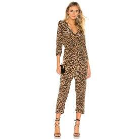 メドモアゼル Mes Demoiselles レディース ワンピース・ドレス オールインワン【Slash Jumpsuit】Panther
