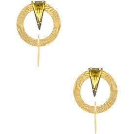 二コール ロマーノ Nicole Romano レディース イヤリング・ピアス フープピアス ジュエリー・アクセサリー【Double Hoop Earring】Gold