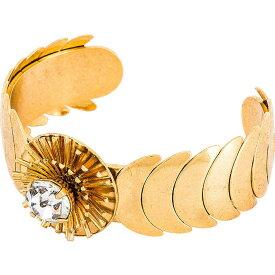 二コール ロマーノ Nicole Romano レディース ブレスレット ジュエリー・アクセサリー【Cuff Bracelet】Gold