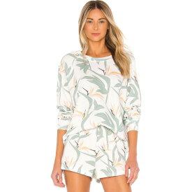 ワイルドフォックス Wildfox Couture レディース スウェット・トレーナー トップス【Bird Of Paradise Sommers Sweatshirt】Multi Colored