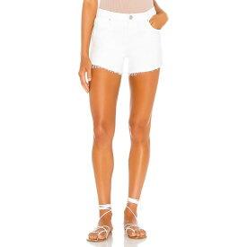 ハドソンジーンズ Hudson Jeans レディース ショートパンツ ボトムス・パンツ【Gemma Mid Rise Cut Off Short】White